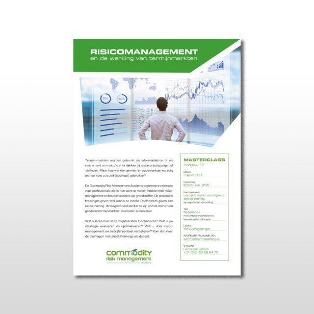 leaflet ontwerp