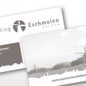 Ontwerp Visitekaartjes Stichting Eschmolen Delden
