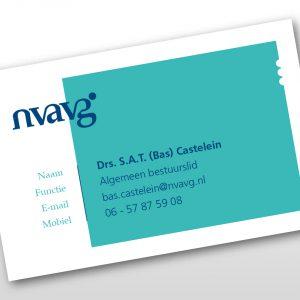 Ontwerp visitekaartjes NVAVG